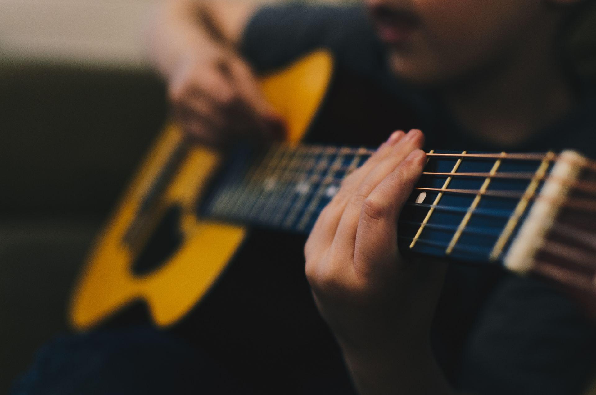 Gitarrer för alla - nybörjare som fantast